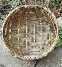cyntell, welsh basket, basket, weaving, willow