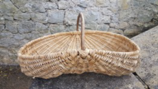 Gower Cockle Picking Basket Welsh Baskets Clare Revera