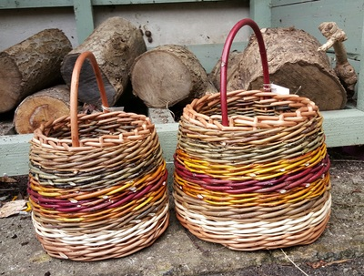 Berry Baskets, Clare Revera Welsh Baskets, Willow Baskets